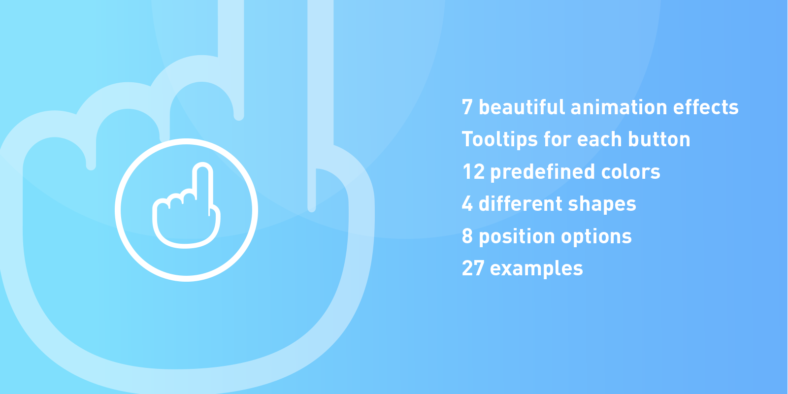 Floating Action Buttons – Pure CSS3